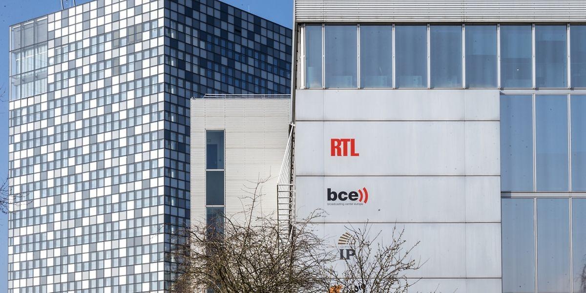 RTL City et l'ancien siège. Nouveau pot pour vieilles confitures.