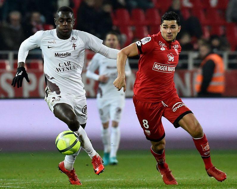 A l'image des Messins, Moussa Niakhate a connu un entame de match catastrophique.