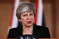 «Un accord reste la meilleure solution», estime Theresa May.