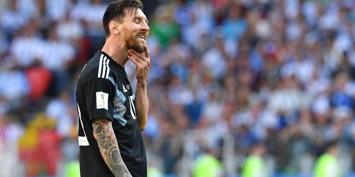 Lionel Messi n'a pas trouvé le chemin des filets face à l'Islande. Même sur penalty...