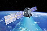In der Satellitenkommunikation - hier das GPS-System Galileo - ist Luxemburg Spitze.