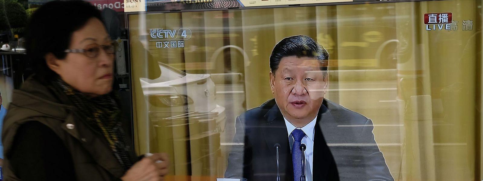 Der chinesische Präsident Xi Jinping setzt auf eine Wiedervereinigung mit Taiwan.