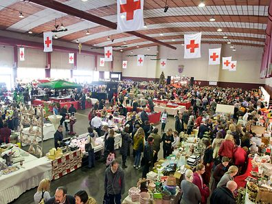 Red Cross charity bazaar will be held at Victor Hugo hall in Limpertsberg on Sunday