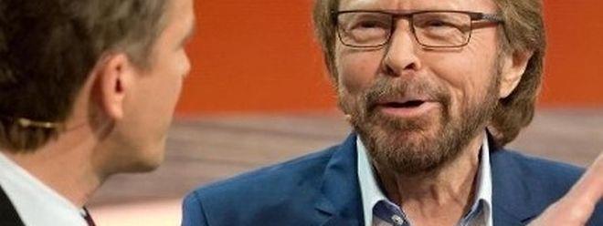 Björn Ulvaeus im Gespràch mit Markus Lanz.
