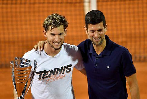 Djokovic contaminé et sur le banc des accusés