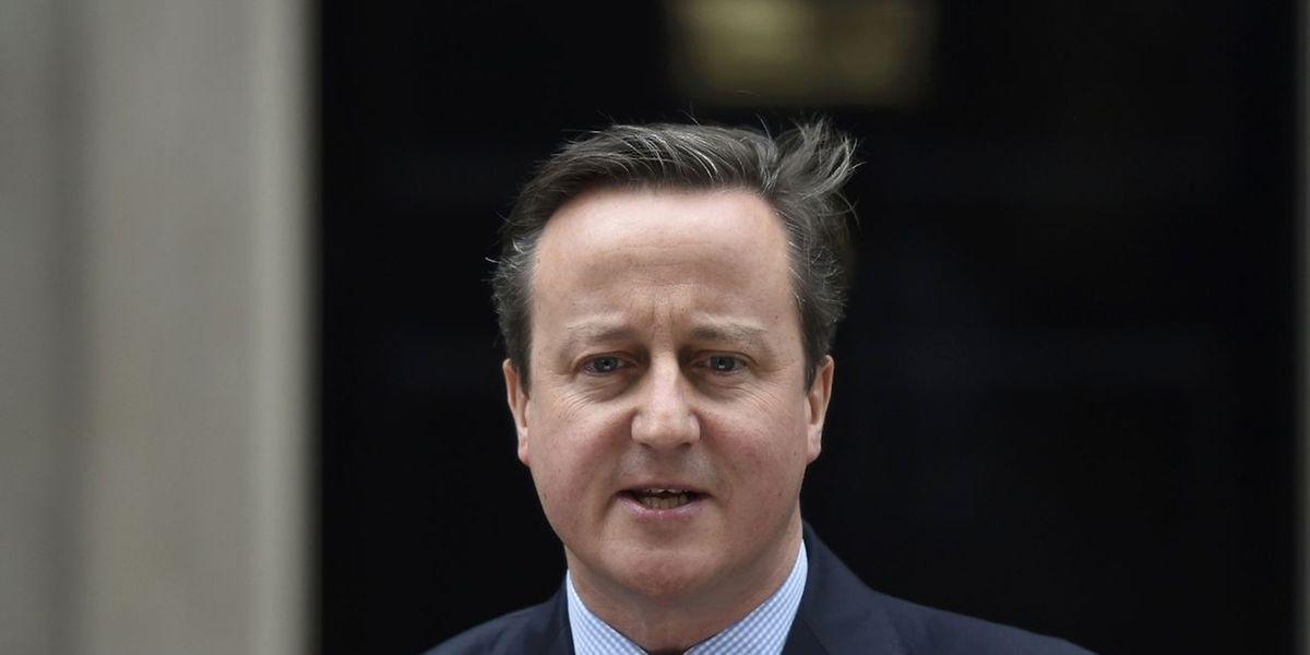 Zurück in London gab Premier David Cameron den Termin des Referendums bekannt.