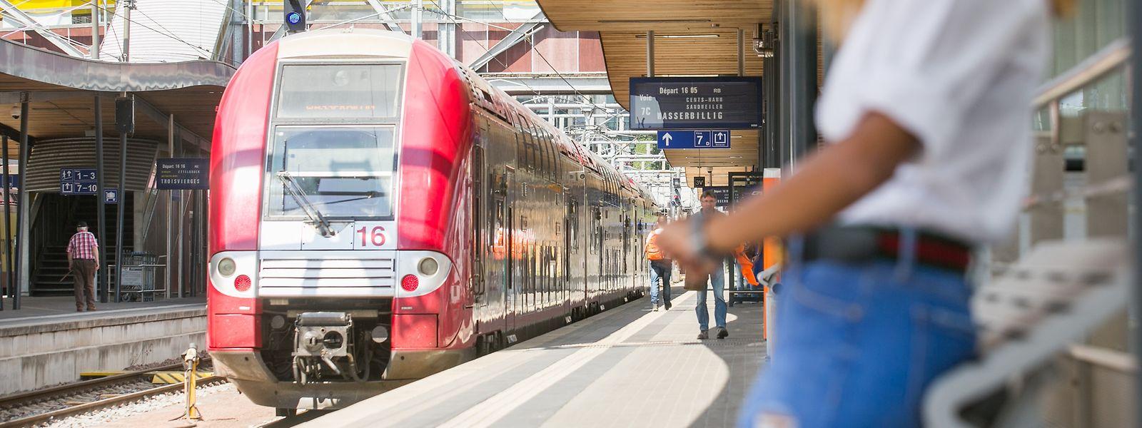 Das Zugnetz in Luxemburg ist überlastet. Täglich werden 90000 Passagiere befördert.