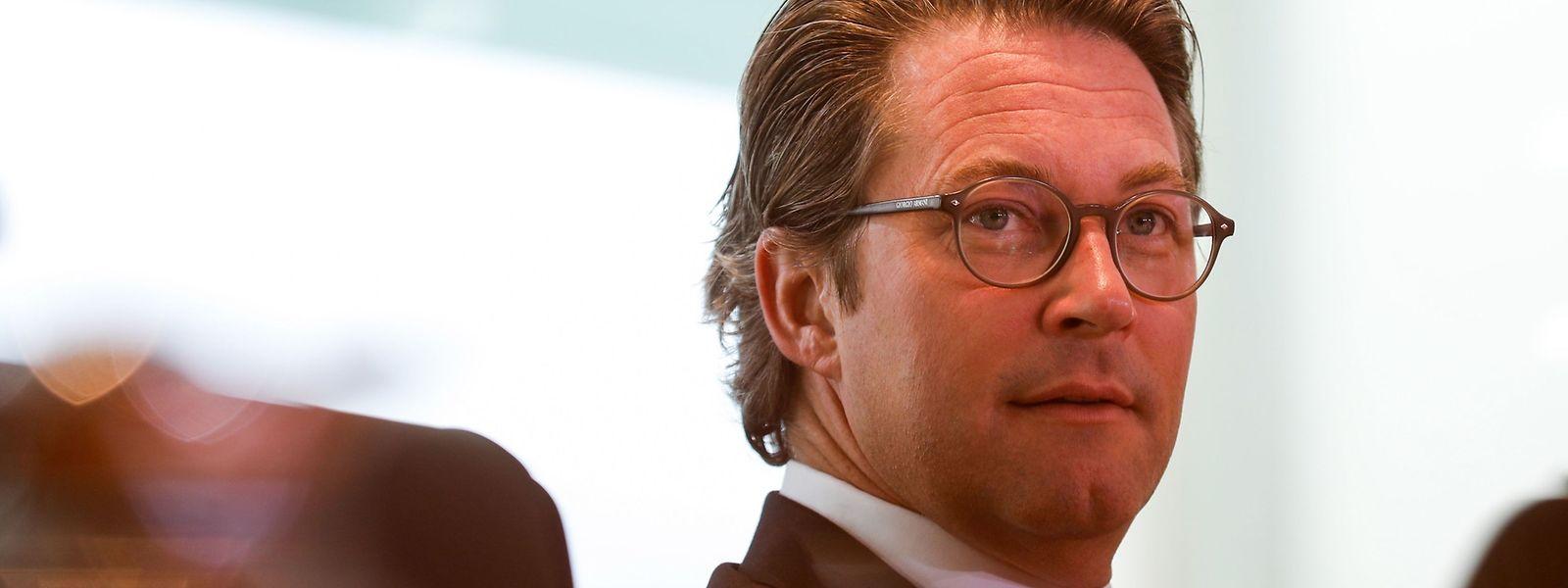 Die Grünen werfen dem deutschen Verkehrsminister Andreas Scheuer vor, nach dem Maut-Desaster weiter die Aufklärung zu blockieren.