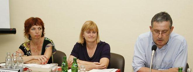 2010 übernahm Myriam Cecchetti (1.v.l.) den Schöffenposten von Robert Rings. Heute fordert letzterer den Posten für seine Partei zurück..