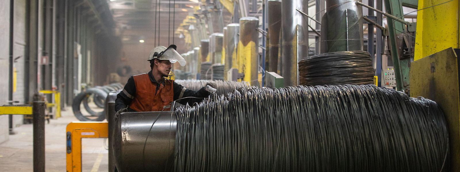 Die ersten drei Monate des laufenden Jahres liefen gut für den Stahlkonzern: Die Nachfrage ist rapide angestiegen.