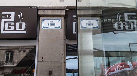 Rue Heine,Gare.Foto:Gerry Huberty