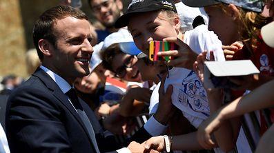 Emmanuel Macron und seine Bewegung haben einen bemerkenswerten Senkrechtstart hingelegt.