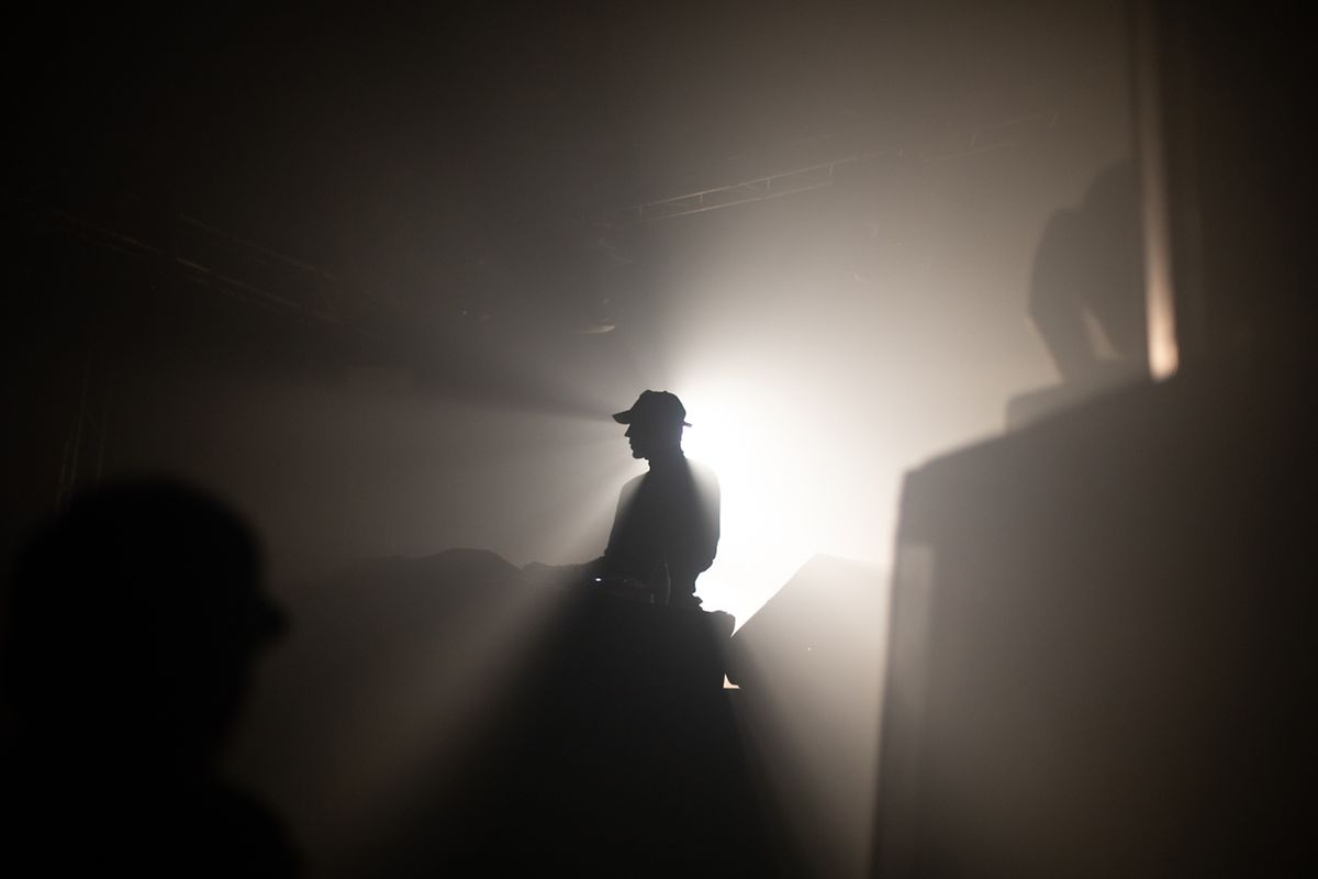 Brodinski,a French DJ performs at den Atelier. Luxembourg, Luxembourg - 09. 02. 2019 photo: Matic Zorman / Luxemburger Wort