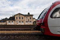 Gare Oetrange / Bahnhof Oetringen / Angriff auf CFL-Mitarbeiter / CFL / 17.03.2019/ Foto : Caroline Martin