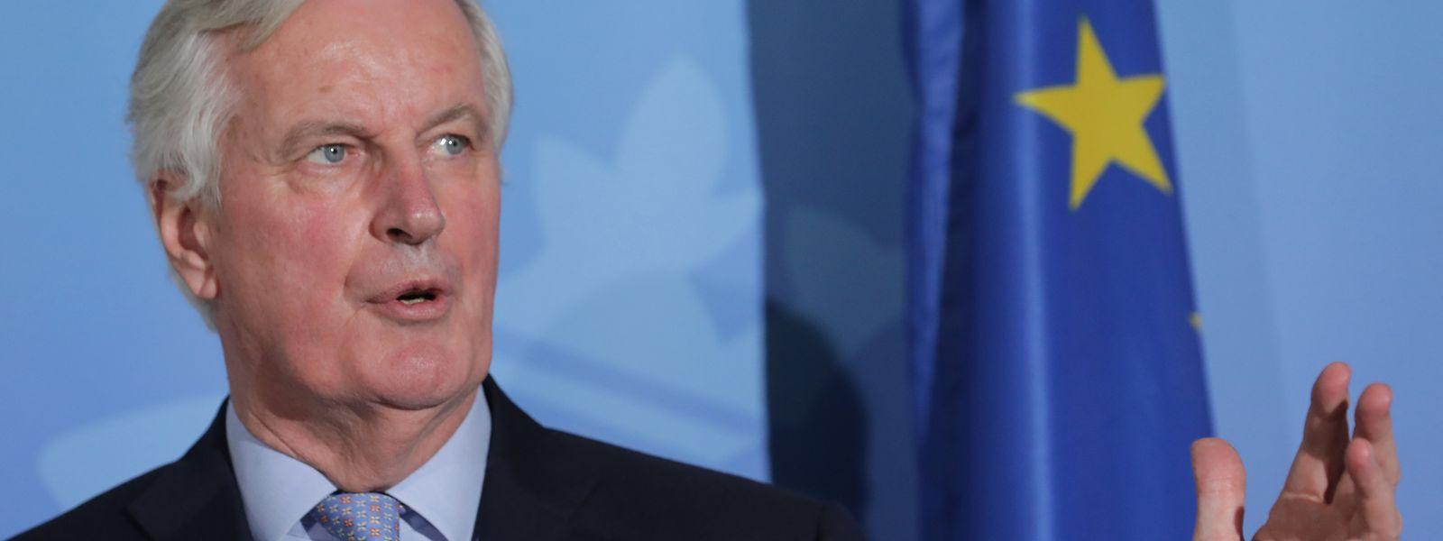 Michel Barnier a rappelé le contenu de son mandat