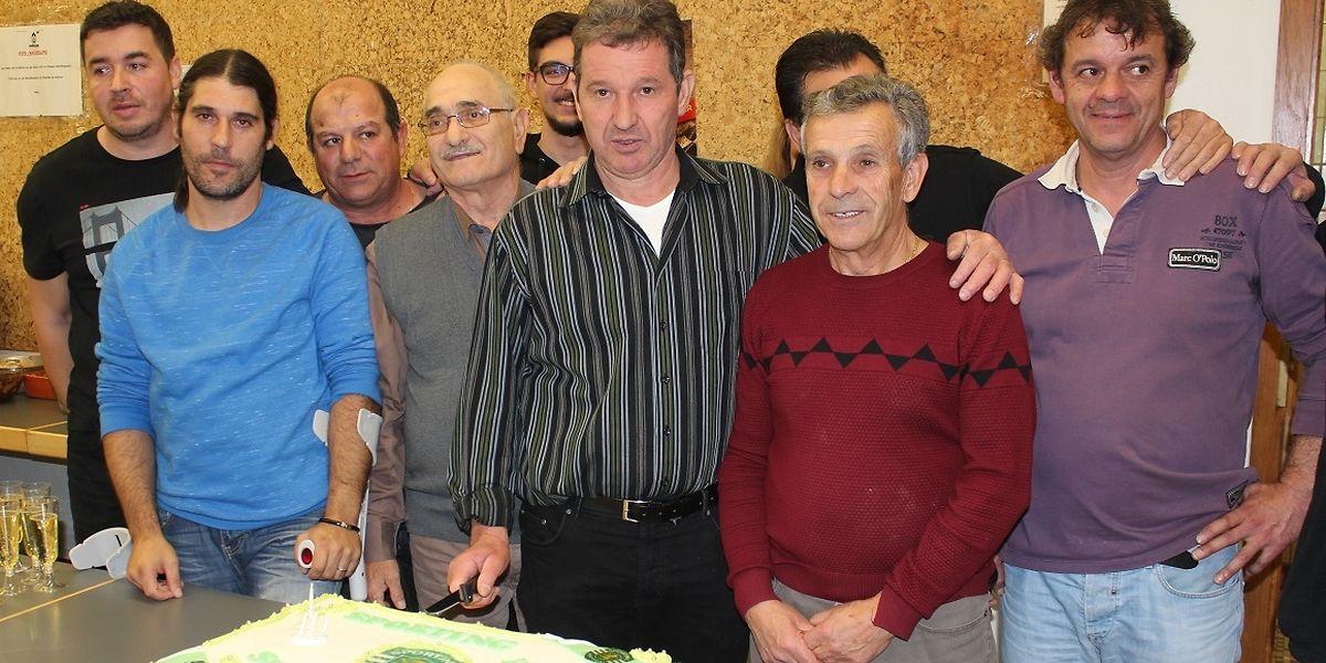 Os 'leões' de Dudelange festejaram o 40° aniversário com festa rija