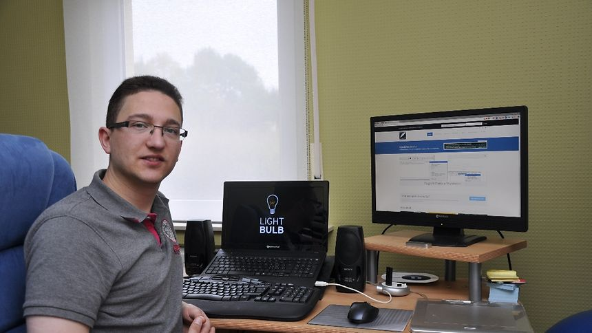 Software developer Michel Weimerskirch has developed a handy app for those prone to making errors when writing Luxembourgish