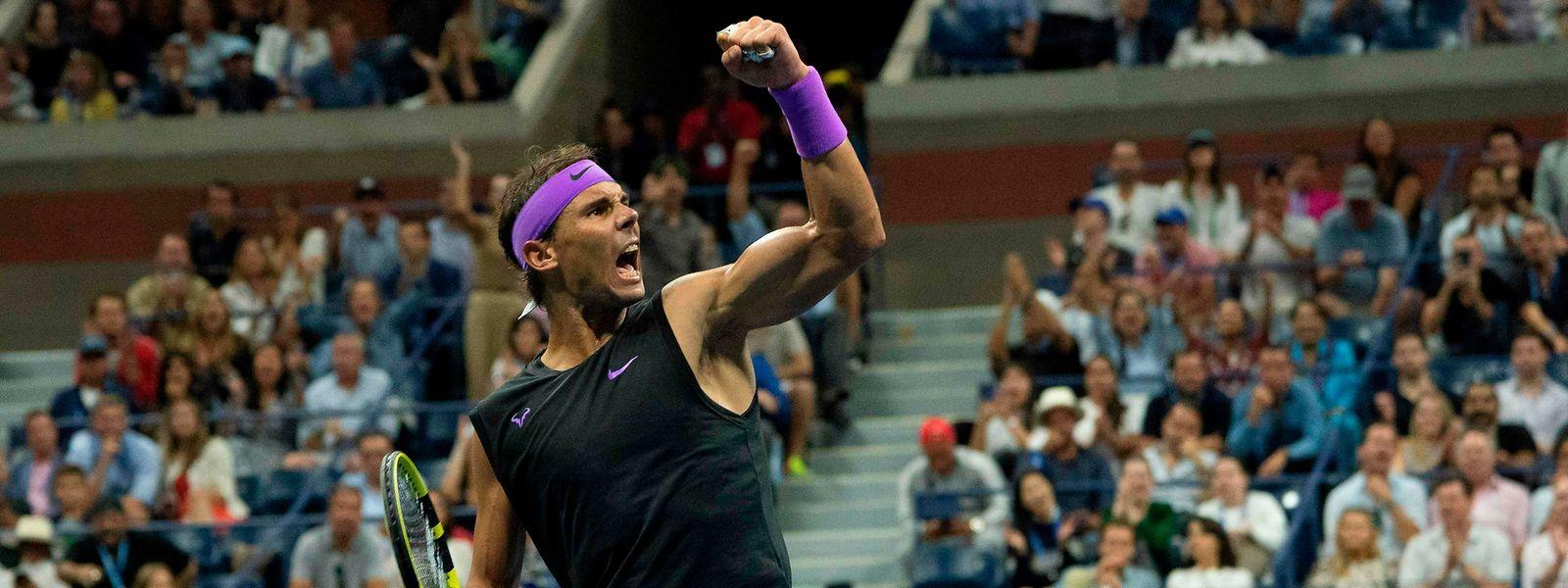 Der Spanier Rafael Nadal triumphiert zum vierten Mal in New York.