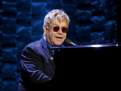 "FILE PHOTO: Singer Elton John performs at the Hillary Victory Fund ""I'm With Her"" benefit concert for U.S. Democratic presidential candidate Hillary Clinton at Radio City Music Hall in New York City, March 2, 2016. REUTERS/Mike Segar/File Photo"