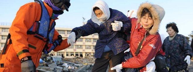 Japan wurde von dem schwersten Beben seiner Geschichte heimgesucht.