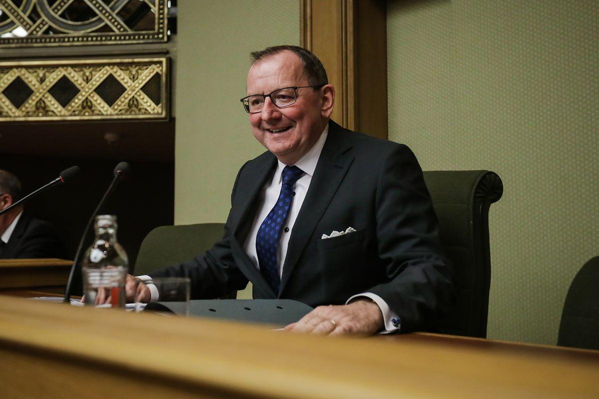 Fernand Etgen von der DP ist der neue Chamberpräsident.
