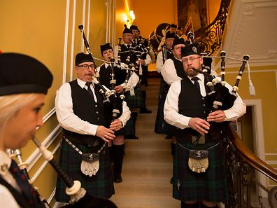 St.Andrews Day at British Embassy Residence