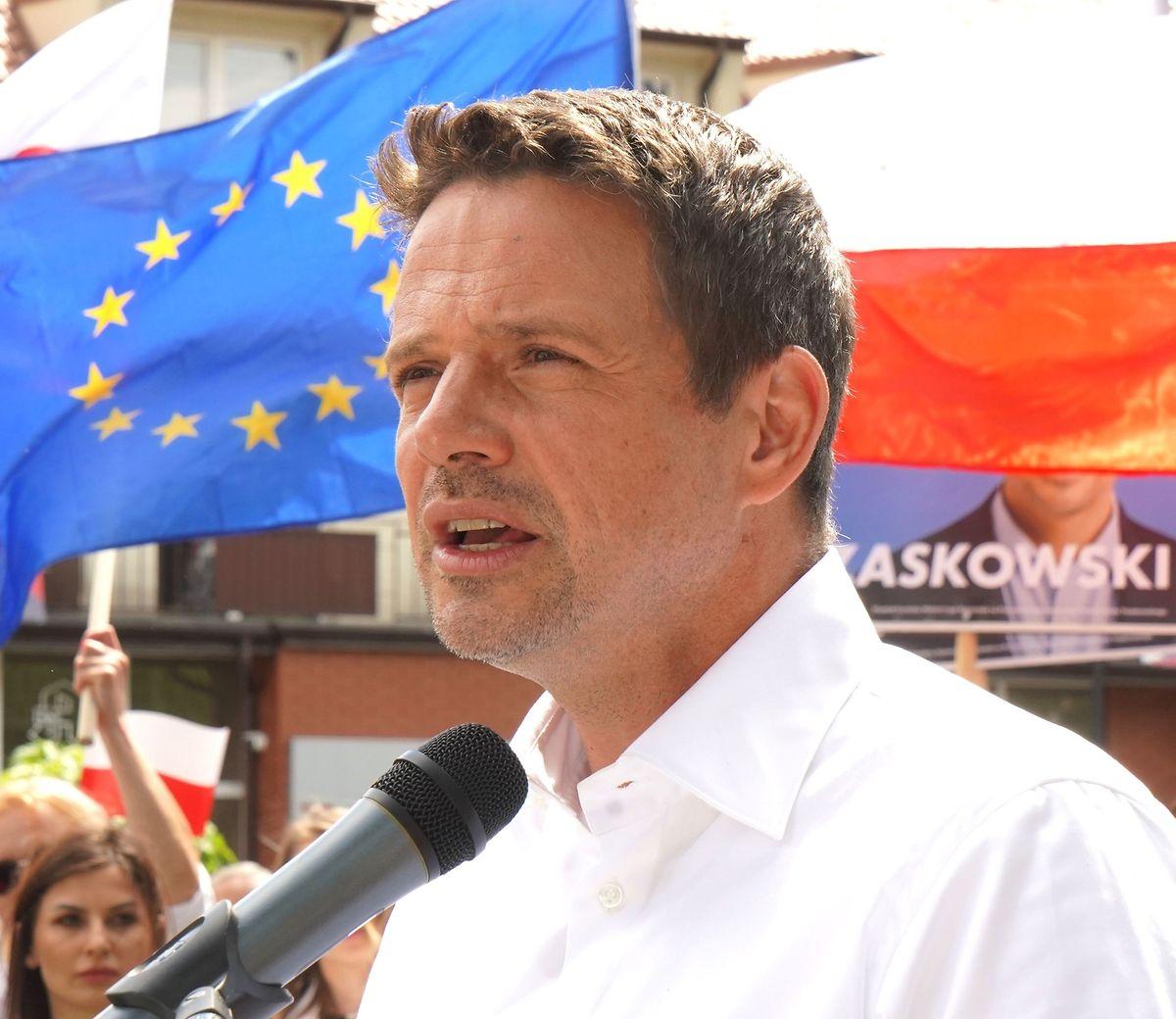 Rafal Trzaskowski, Bürgermeister von Warschau und politischer Rivale Dudas.
