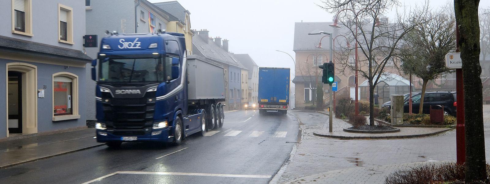 Der Verkehr in Hosingen soll sich beruhigen.