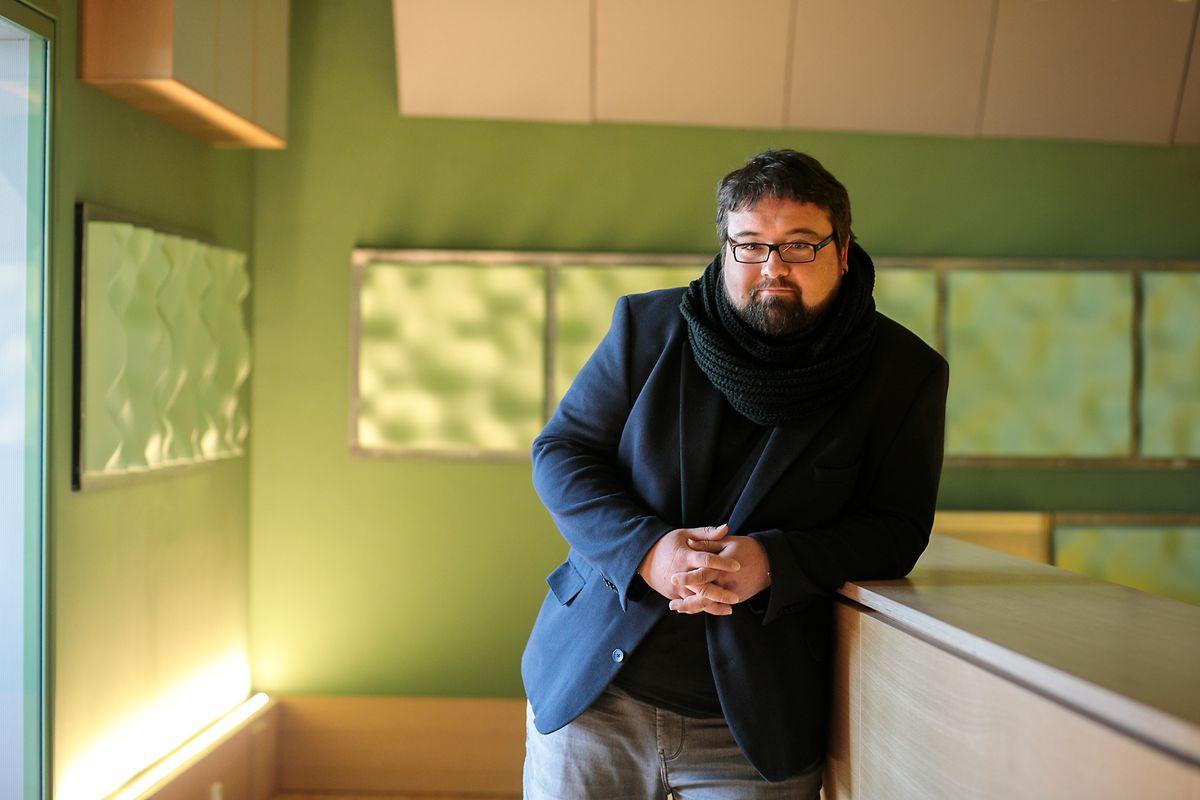 O pianista Michel Lopes.