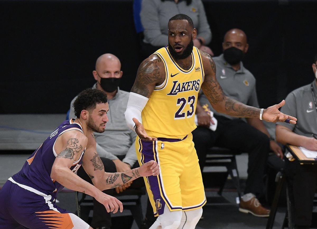LeBron James hat im Vorfeld Kritik an der Veranstaltung geäußert.