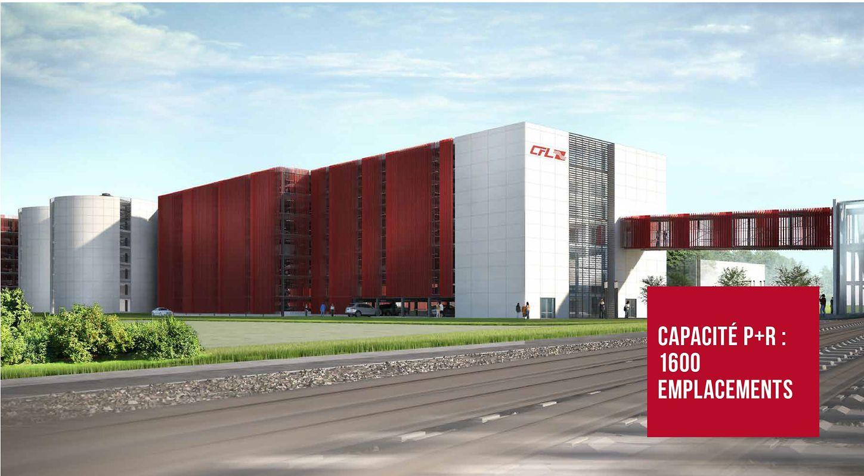 Dans le sud, à Rodange, un P+R de 1.600 places verra le jour en 2021 pour 43,5 millions d'euros.