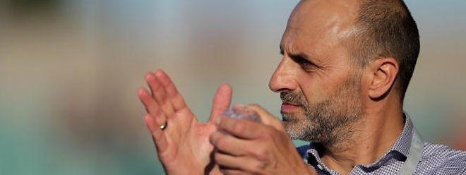 Fabio Marochi, le président du Progrès, est confiant avant le match de reprise dans l'enceinte du Fola.