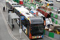 Lokales, Mobilität, mobilité, Verkehr, Velo, tram, Bus, Busse, Fahrrad TNS Ilres Umfrage, bilan perspectives du service AVL Foto: Anouk Antony/Luxemburger Wort