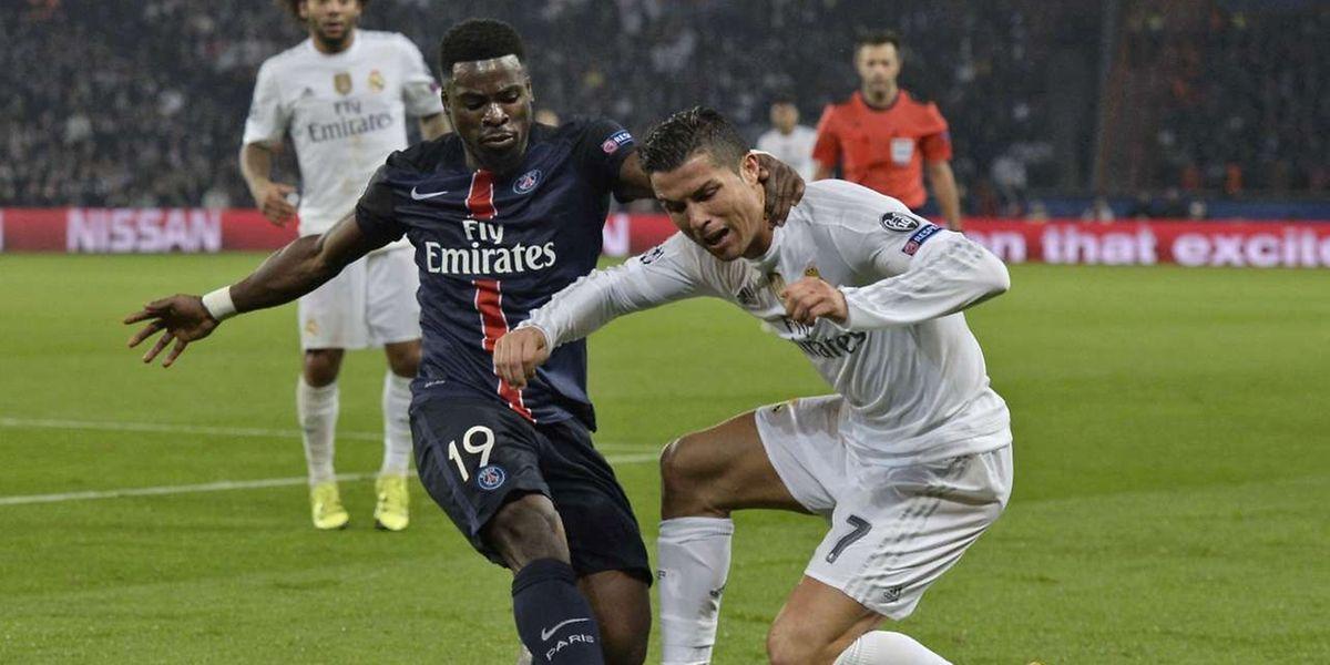 Serge Aurier ne ménage pas Cristiano Ronaldo. Le PSG n'a pas courbé l'échine face à un Real dominateur.