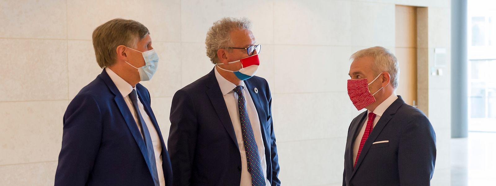 Il va bien falloir que les trois vice-Premiers ministres (Déi Gréng, DP et LSAP) se décident sur une position commune en matière fiscale. Sinon, gare au désordre jusqu'en 2023...