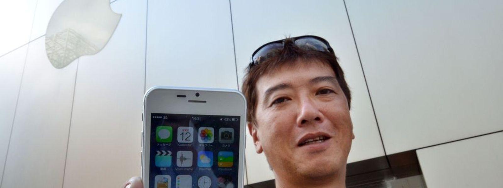 Der Hype um Apples neus iPhone hat auch die Chinesen erfasst.
