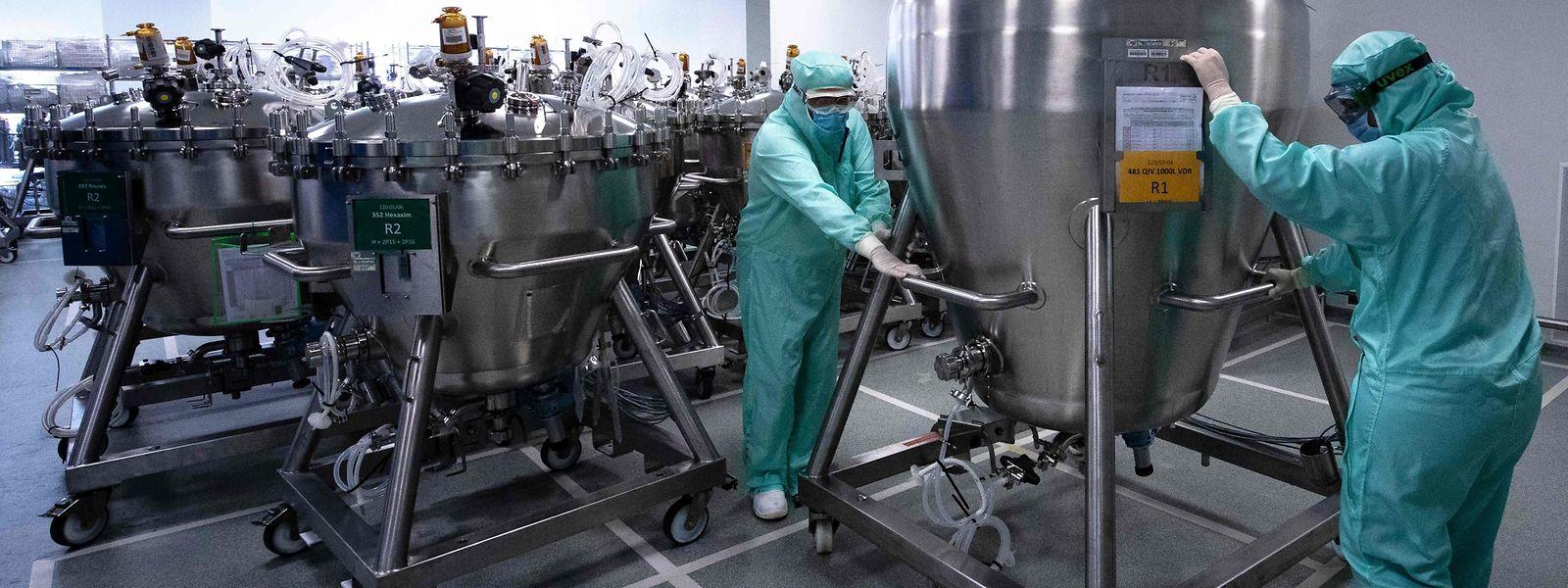 C'est le site de Francfort du laboratoire Sanofi qui devrait produire les dosettes pour le compte de son concurrent.