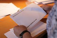 Lokales, Referendum in Weiswampach zum projekt am see. foto: Chris Karaba/Luxemburger Wort