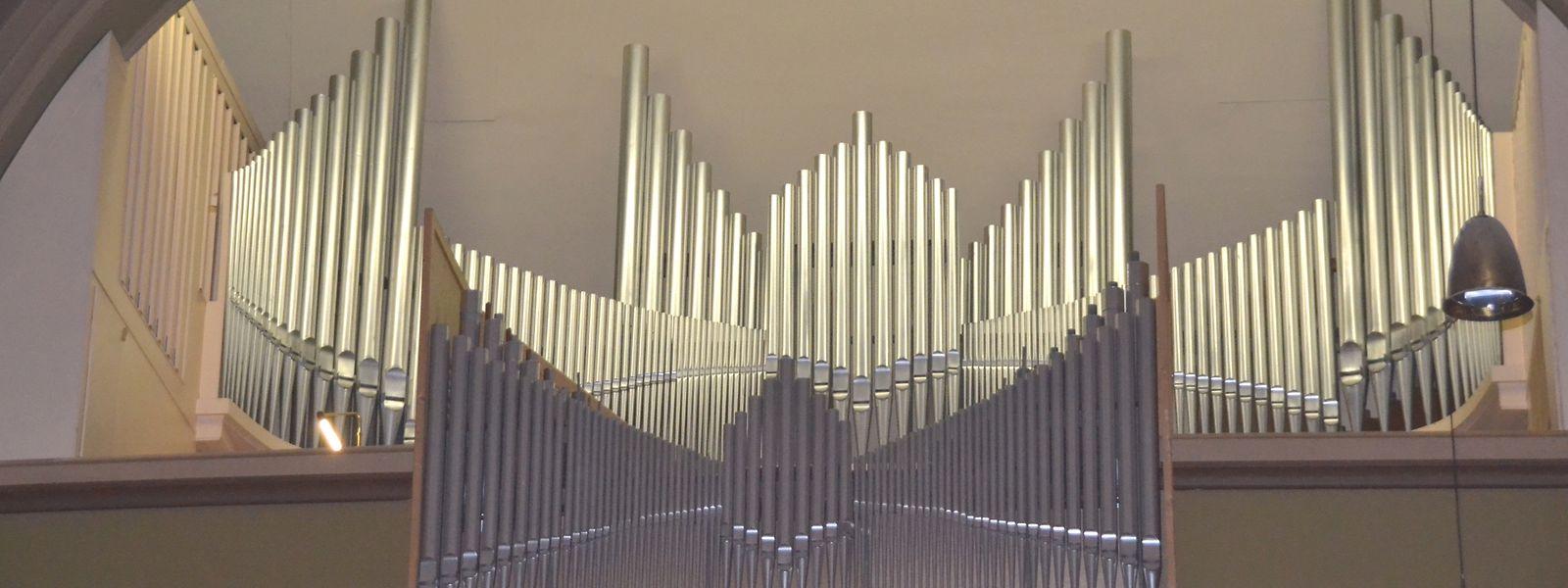 Die große Orgel erhält im kommenden Jahr eine Verjüngungskur.