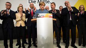 """Angela Merkel admitiu que esperava """"um melhor resultado"""""""