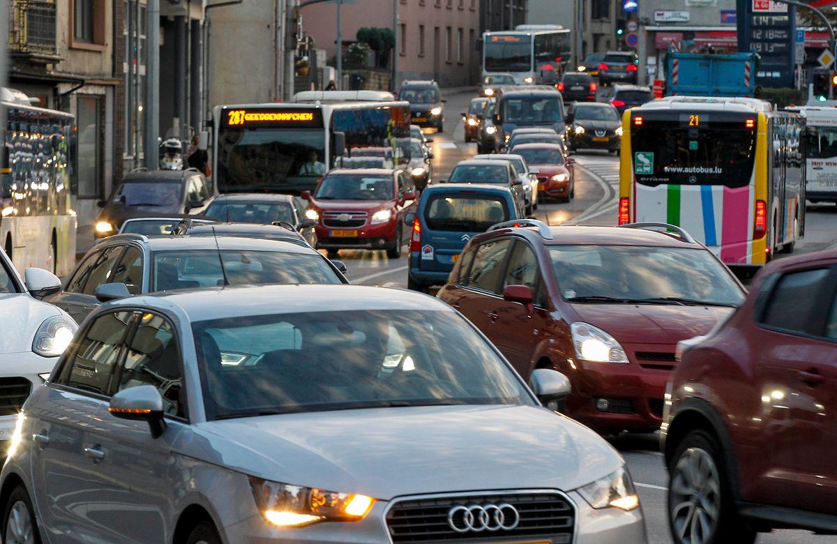 Immobilität statt Mobilität: Das Verkehrsproblem in Luxemburg wird immer akuter. François Bausch wird daran gemessen werden, wie schnell er eine Lösung finden kann.