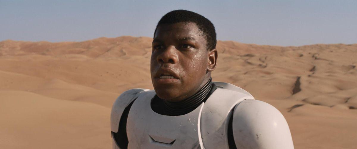Finn - ein Stormtrooper entdeckt sein Gewissen.