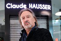 Wirtschaft, Corona-Virus, Claude Hausser vor seinem Frisörladen in Auchan Gasperich, Frisör, Foto: Guy Wolff/Luxemburger Wort