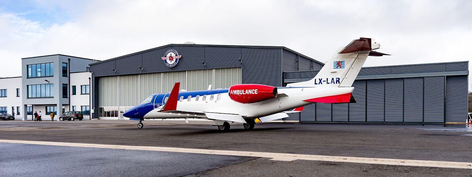 Für die sechs Learjets der Air Rescue werden die Einsätze im Ausland schwieriger.