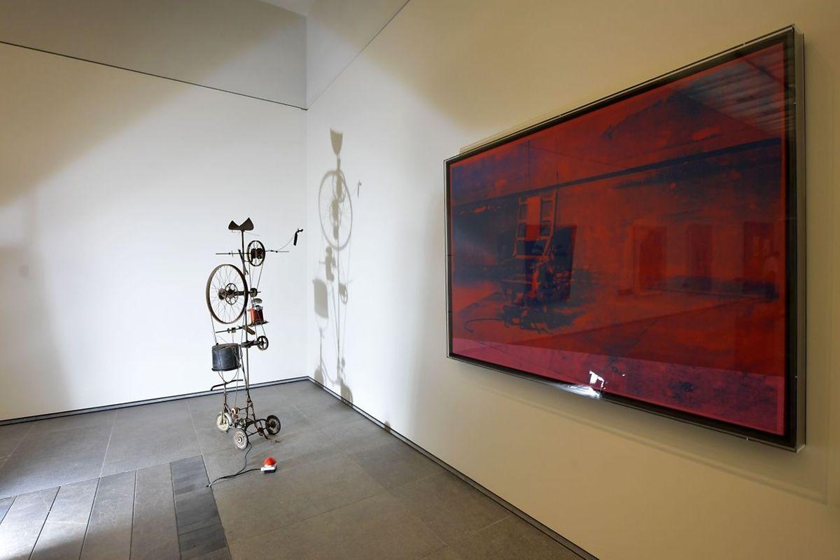 """Big Electric Chair"" d'Andy Warhol"