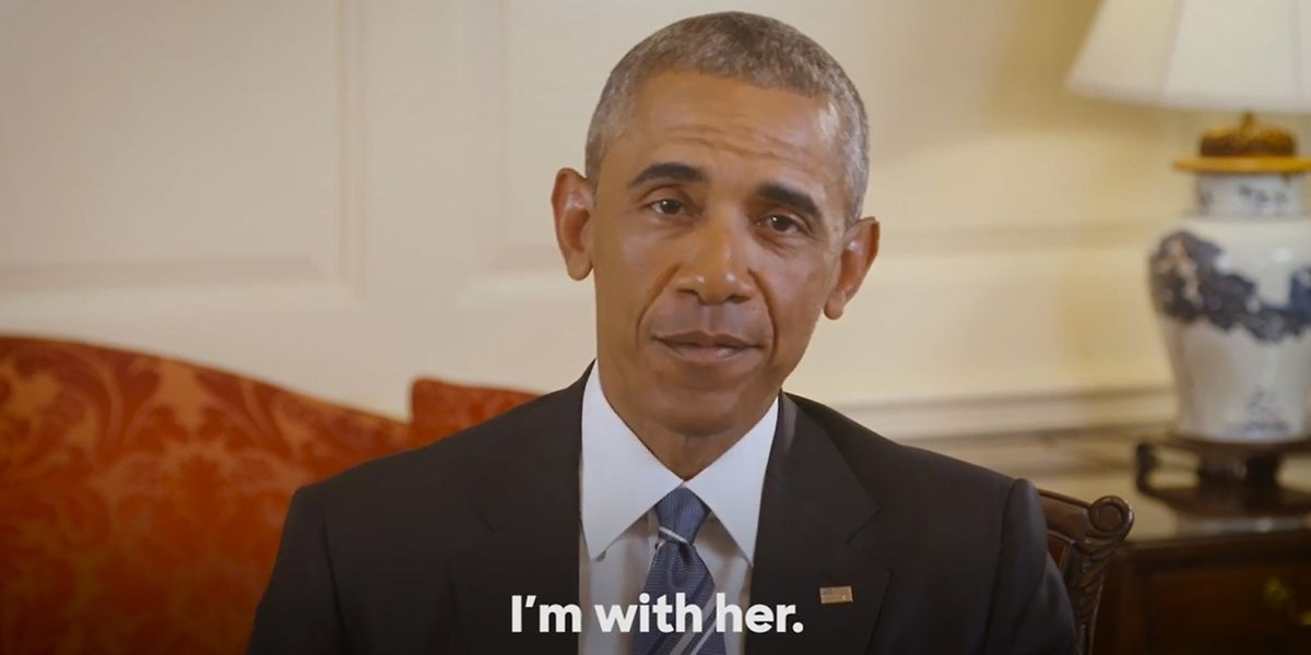 US-Präsident Barack Obama stellt sich hinter Hillary Clinton.