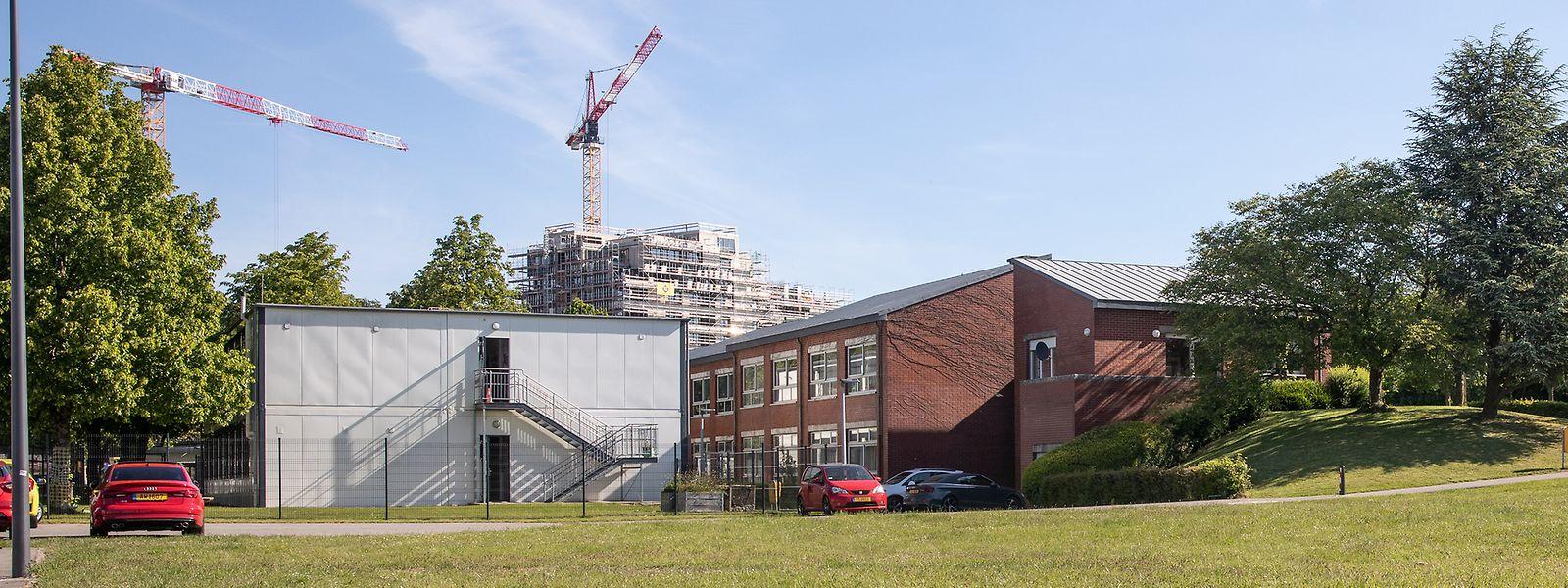 Le bâtiment scolaire existant du domaine du Kiem va subir une importante transformation.