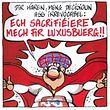 """""""Meus senhores, a minha decisão é irrevogável: eu sacrifico-me pelo Luxoburgo!"""", diz o super-herói luxemburguês."""