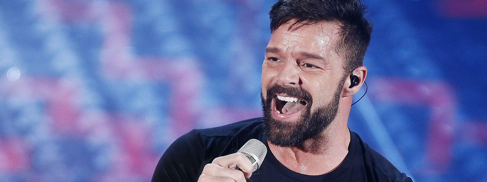 """Ein Sänger, der auch die Kamera liebt: Ricky Martin würde gerne häufiger als Schauspieler in Erscheinung treten. Im neuen Netflix-Film """"Jingle Jangle"""" ist nur seine Stimme zu hören."""