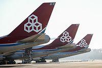 De nombreux appareils de la compagnie Cargolux sont cloués sur le tarmac du Findel depuis plusieurs jours